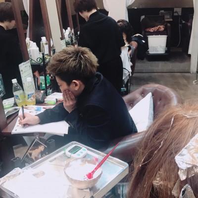 美容師のレッスン♡