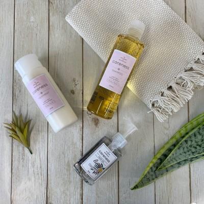みんな愛用のハピネスオリジナルシャンプーからフルーティフローラルの香りが出ました❤️保湿力、補修力は変わらず最強です!!